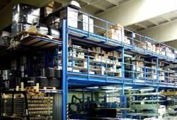Мезонины для складских помещений и магазинов
