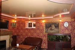 Натяжной потолок в стиле ампир