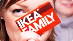Владельцы клубных карт IKEA FAMILY получили спецпредложения на товары мебельного ряда