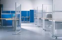 Офисный дизайн: современные офисные перегородки