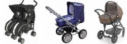 Детские коляски: какими они могут быть?