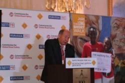 Выступление Виктора Кирьянова на Международном форуме «Безопасные дороги для всех»