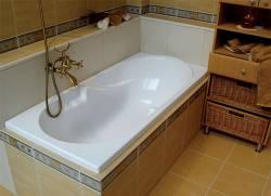 Сантехника для ванной комнаты. Выбираем ванну