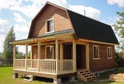 Природный строительный материал для загородного дома