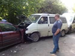 Лобовое столкновение в Клинцовском районе.