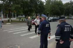 Сотрудники ГИБДД провели профилактическое мероприятие по нарушению пешеходами Правил Дорожного Движения.