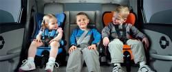 Соблюдайте правила при перевозке детей