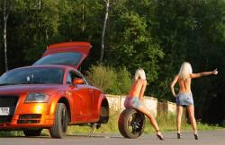 Поломка автомобиля на дороге