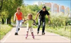 Доступный спорт для всех членов семьи