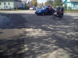 ДТП на перекрестке ул. Фрунзе и ул. Рябко