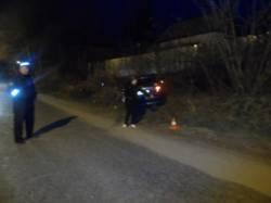вчера вечером  водитель иномарки по улице 25 Сентября допустил наезд на пешехода