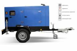 Универсальный передвижной дизель генератор на все случаи жизни