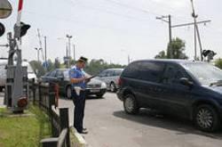 Госавтоинспекция г. Клинцы провела рейдовые мероприятия рейдовые мероприятия на пересечениях автомобильных и железных дорог!