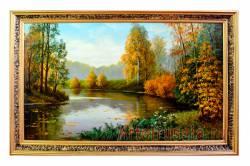 Оформление интерьера живописью