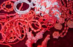 Украшения с кораллами от интернет-магазина «Миледи»
