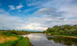 река Десна в районе деревни Полужье