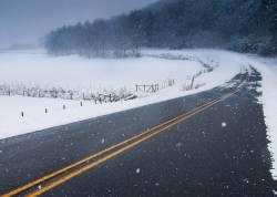 Черный лед -одно из самых опасных погодных явлений