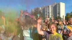День красок в городе Клинцы