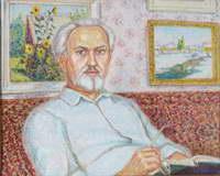 """""""Портрет мужа"""", 1999 г. (х., м.)"""
