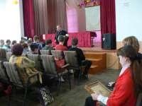 Встреча студентов Клинцовского текстильного техникума со священником