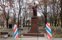 В Клинцах открыли отреставрированный памятник Михаилу Калинину
