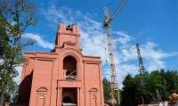 Строительство Богоявленского Кафедрального Собора в Клинцах