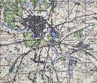 Карта Клинцов и Клинцовского района