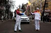 Volkswagen привез Эстафету Олимпийского огня «Сочи 2014» в Брянск