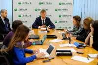 Итоги работы розничной сети Сбербанка в 2014 году подвёл директор департамента организации розничного обслуживания и продаж Анатолий Попов