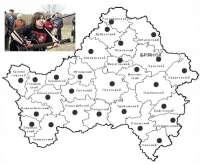 Рок-карта Брянской области