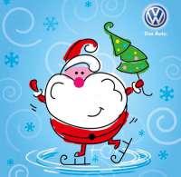 Встречаем Новый год вместе с Volkswagen!
