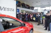 LADA Vesta: премьерный показ в Клинцах