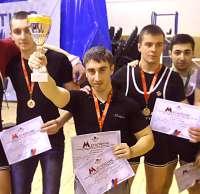 Юный клинчанин выжал рекордный вес на чемпионате в Москве