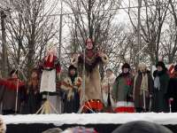 Проводы русской зимы в Клинцах