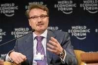 Герман Греф выступил на сессии Давосского форума, посвященной Играм в Сочи