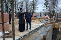Строительство собора в Клинцах продвигается быстрее намеченного