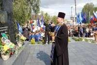 Освящение памятника ликвидаторам аварии на ЧАЭС