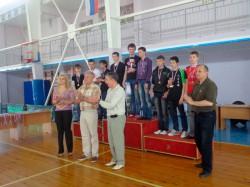 Награды победителям и призерам